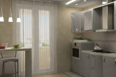Дизайн Штор для Кухни с Балконной Дверью — пошаговая инструкция с фото