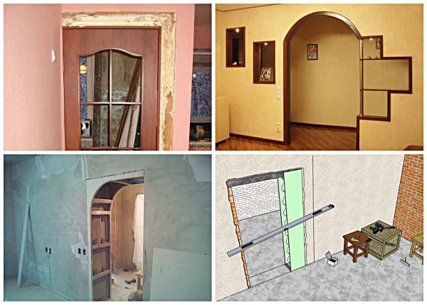 Как Уменьшить Проем Межкомнатной Двери По Ширине — пошаговое фото для начинающих
