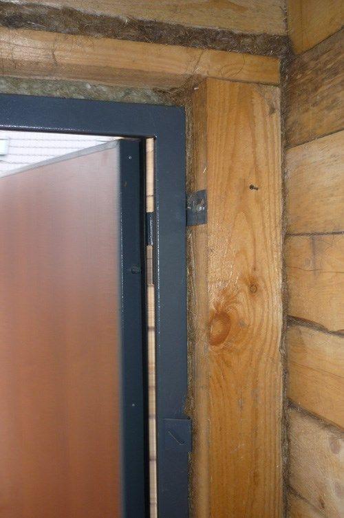 Как Вставить Железную Дверь в Деревянном Доме — пошаговое фото для начинающих