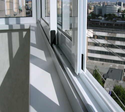 Алюминиевые Окна на Балкон Раздвижные Схема Монтажа - схемы, как сделать