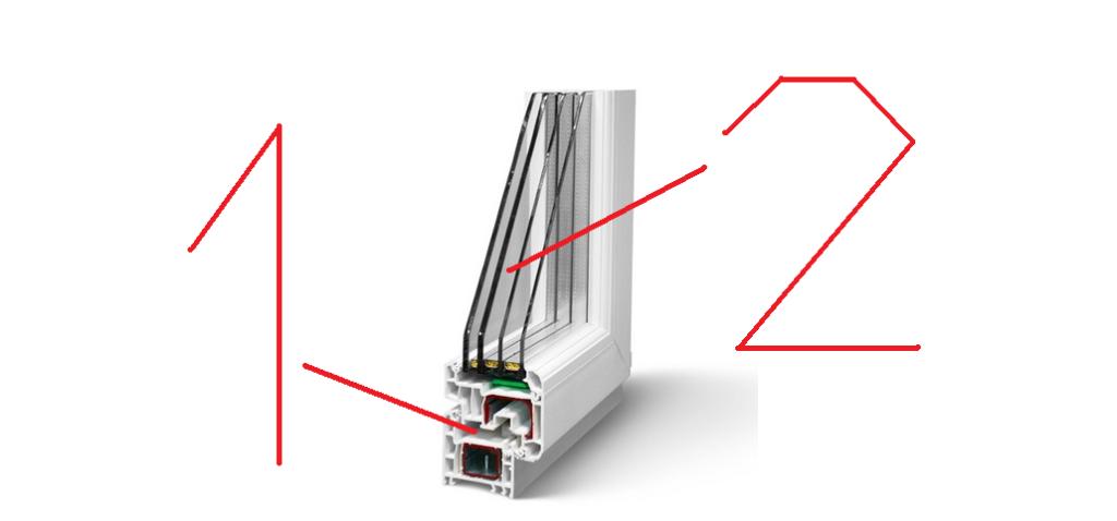 Как Определить Сколько Камер в Пластиковом Окне - схемы, как сделать