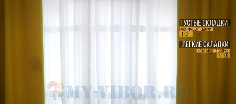 Как Рассчитать Тюль на Окно в Ширину - методы