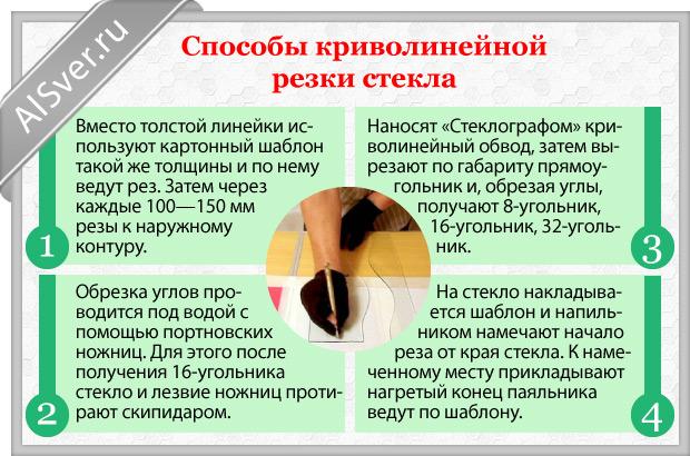 Как Резать Стекло Стеклорезом в Домашних Условиях - делаем правильно