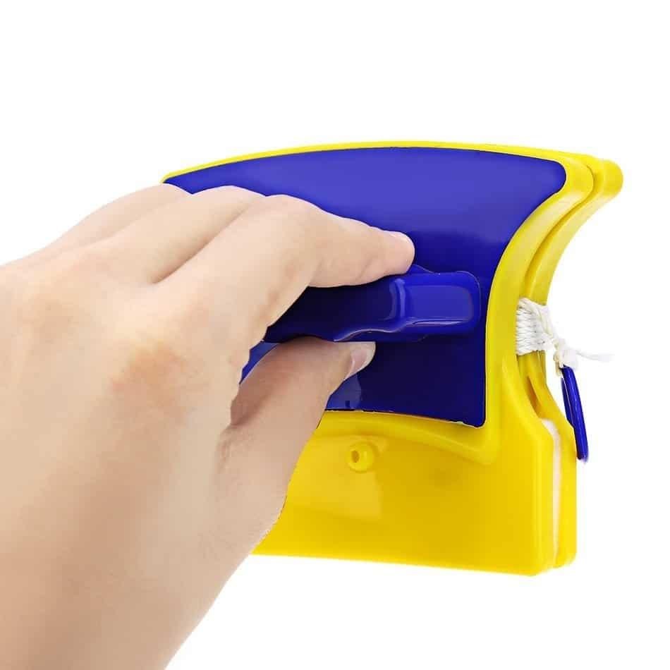 Магнитная Щётка для Мытья Окон для Стеклопакетов - быстро и легко