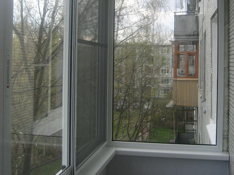 Москитная Сетка на Раздвижные Окна на Балконе - схемы, как сделать