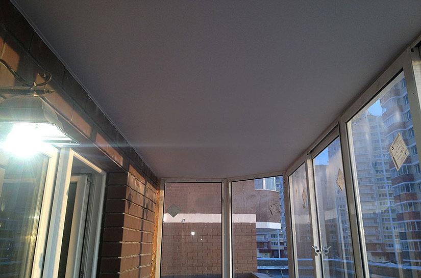 Можно ли Делать Натяжной Потолок на Балконе - практические советы