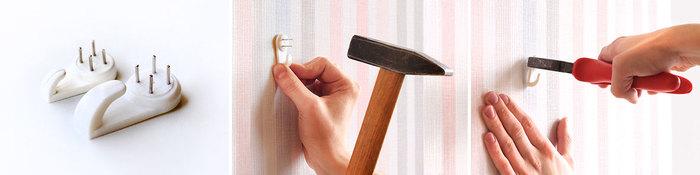 Повесить Картину без Сверления Стены на Обои - практические советы