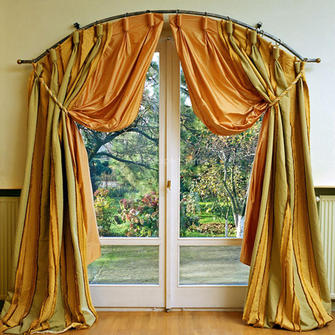 Шторы на Арочные Окна в Классическом Интерьере - схемы, как сделать