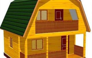 Дома из бруса 6х6