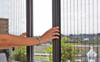 Москитная Сетка на Раздвижные Окна на Балконе — схемы, как сделать