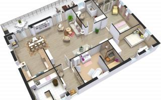 Проекты каркасных домов 8 на 8