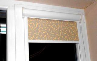 Рулонные Шторы на Пластиковые Окна без Сверления — советы