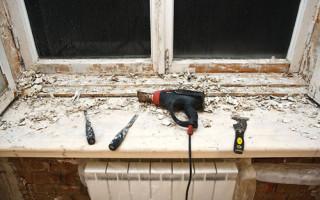 Как Покрасить Деревянные Окна по Старой Краске — делаем правильно