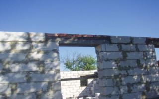 Перемычки из Уголка в Стене из Газобетона — быстро и легко