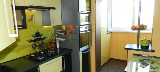 Шторы для кухни совмещенной с лоджией