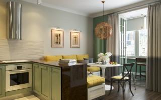 Нюансы планировки кухни-гостиной 15 кв
