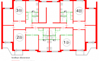 Характеристики дома серии п 3: планировка квартир