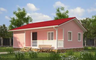 Каркасный дом 5х9 проект