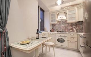 Маленькая кухня в хрущевке: 80 фото и идей дизайна