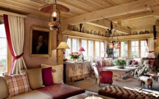 Занавески в Деревенском Доме с Маленькими Окнами — делаем правильно