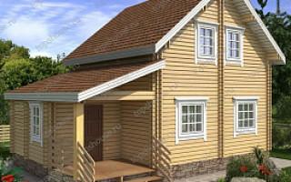 Проекты домов и срубов из бревна 6×9