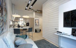Квартира площадью 36-37 кв м: планировка, зонирование, выбор оформления, дизайн