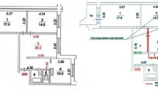 Виды перепланировки квартир, идеи, примеры