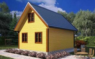 Проекты домов 6 на 5 в два этажа (2 этажа)