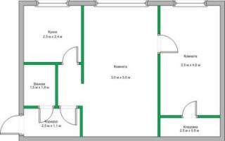 Лучшие идеи дизайна хрущевки 2 комнаты 43 кв м