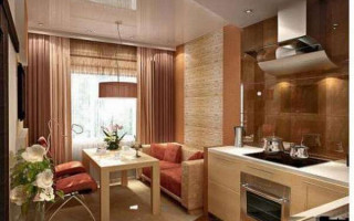 Грамотная планировка кухонного пространства с учетом коммуникаций и зонирования помещения