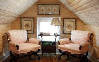 Дом 4х5 с мансардой – идеальный вариант для дачи