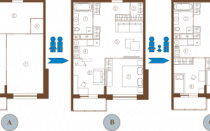 Перепланировка 2-комнатной квартиры в 3-комнатную