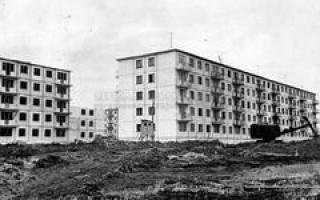 Модификации серии типовых панельных домов 1-464