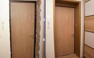Чем Обшить Входную Дверь Изнутри Своими Руками — просто о сложном