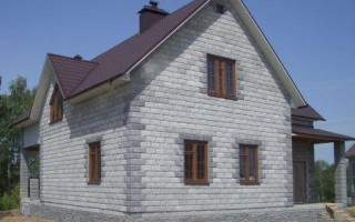 Строим дом 8 на 8 из пеноблоков: выбор проекта и подсчет расходников
