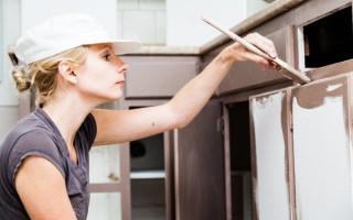 Покраска Кухонных Фасадов из Мдф Своими Руками — виды и этапы