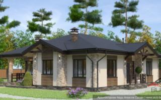 Варианты планировки и проектирование дома с мансардой размером 12х12 м