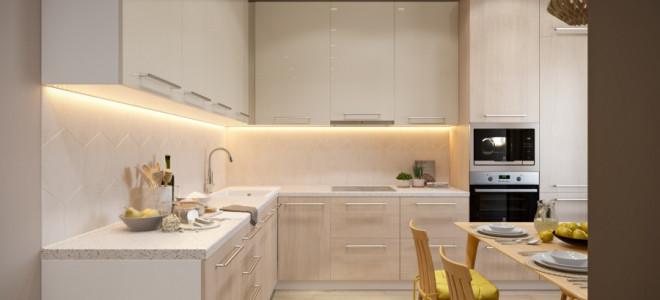 Грамотная планировка и дизайн квартиры 45 кв