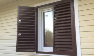 Ставни на Окна для Дачи Своими Руками — методы