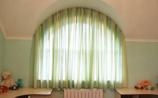 Шторы на Арочные Окна в Классическом Интерьере — схемы, как сделать