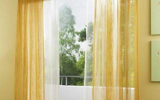 Как Рассчитать Тюль на Окно в Ширину — методы