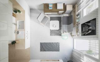 Продумываем планировку квартиры-студии 20 кв