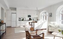 Планировка кухни гостиной 17 кв м