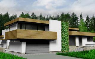 Проекты домов в стиле Минимализма
