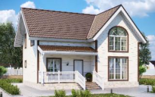 Проекты домов с мансардой 10 на 10