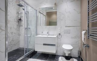 Маленькая ванная комната, совмещенная с туалетом 3 кв