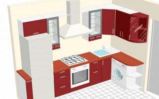 Кухни 6 кв