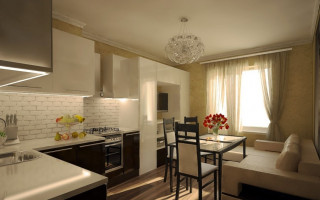 Кухня 18 кв